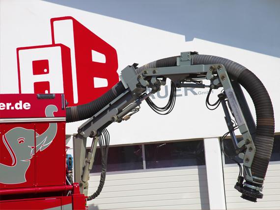 Saugtechnologie auf LKW bei Andreas Bauer GmbH, Mitterkirchen